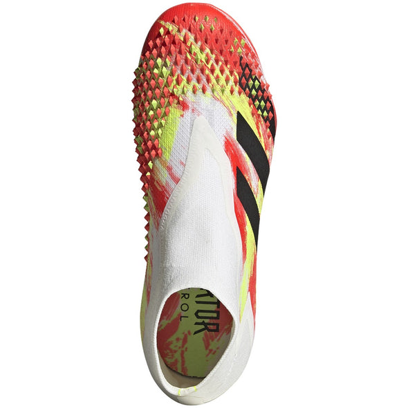 adidas Predator Mutator 20+ FG JR- White/Core Black/Pop