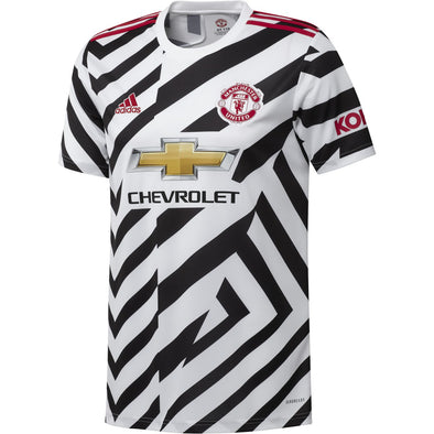 adidas 2020-21 Manchester United Away Jersey - ADULT