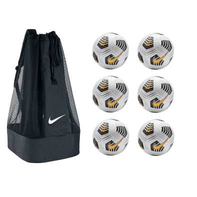 Nike Flight Soccer Ball Pack - White/ Black / Laser Orange