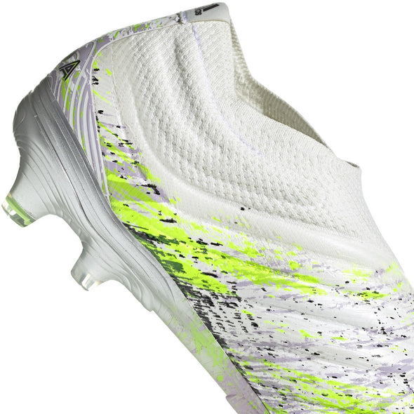 adidas Copa 20+ FG - White/Core Black/Signal Green