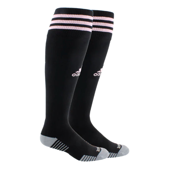 Weston FC Boys Premier adidas Copa Zone IV Socks - Black/Pink
