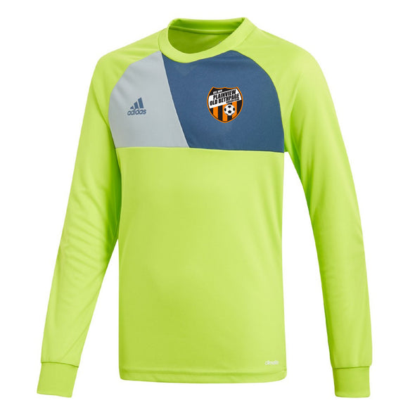 Plainview Old Bethpage adidas U9-U10 Assita GK Jersey - Lime Green