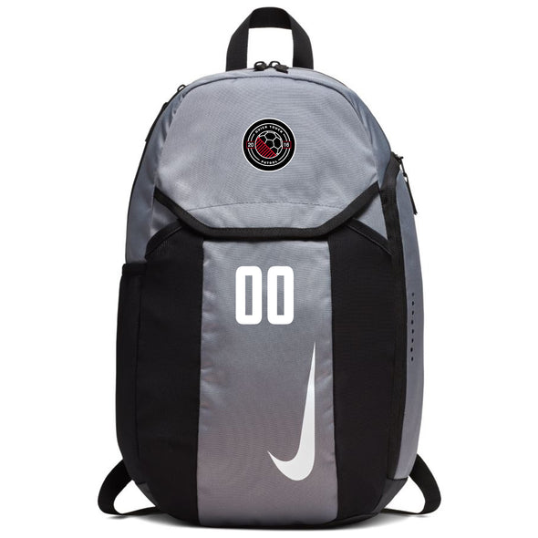 Quick Touch FC Nike Academy Team Backpack - Grey