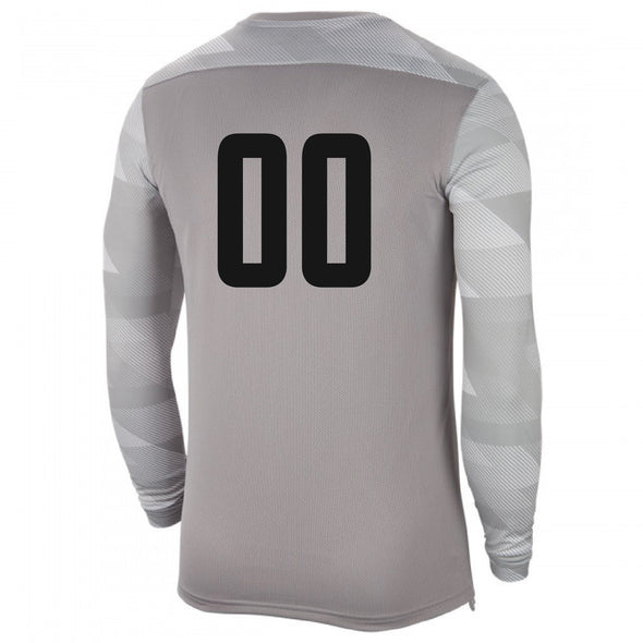 Montclair United Match Fit Nike LS US Park IV GK Jersey Grey