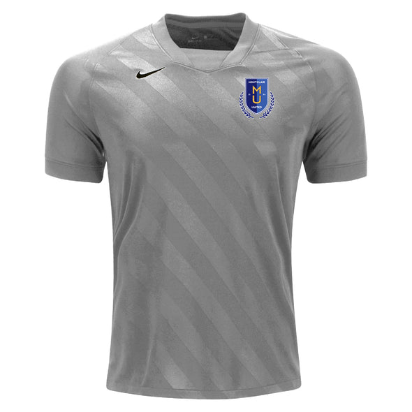 Montclair United Match FitNike US Challenge III GK Jersey Grey