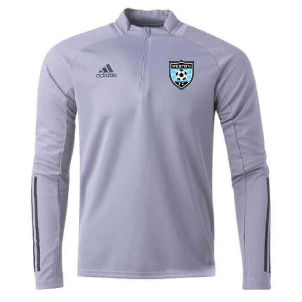 Weston FC Boys Premier adidas Condivo 20 Grey Training Top