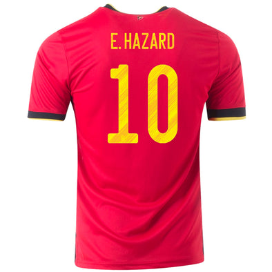adidas Eden Hazard 2020-21 Belgium Home Jersey - YOUTH
