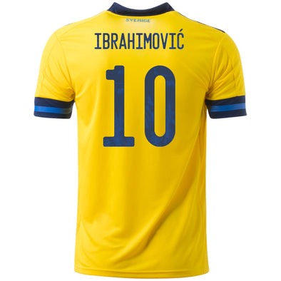 adidas Ibrahimovic 2020-21 Sweden Home Jersey - MENS