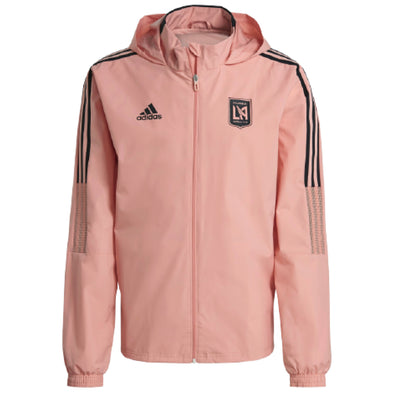 adidas 2021-22 Los Angeles FC All-Weather Jacket - MENS