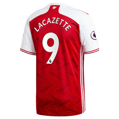 adidas Alexandre Lacazette 2020-21 Arsenal Home Jersey - MENS