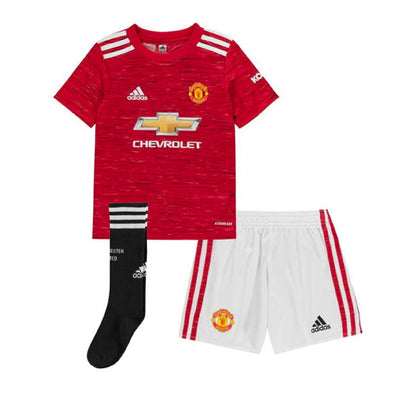 adidas 2020-21 Manchester United Home Junior Kit
