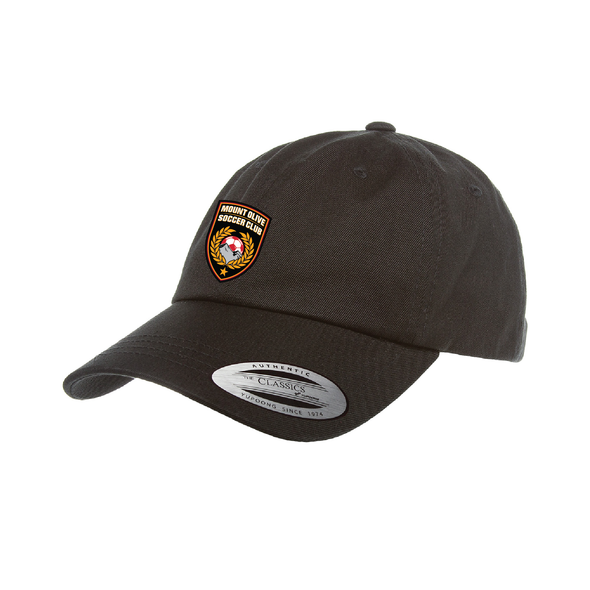 Mount Olive Travel Yupoong Cotton Twill Dad Cap Black
