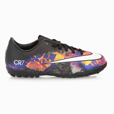 Nike Junior Mercurial Victory V TF CR JR Turf Artificial Ground Soccer Shoe- Black/White/Red