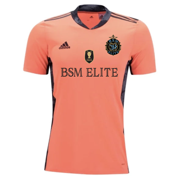 BSM Elite adidas AdiPro 20 GK Short Sleeve GK Jersey - Solar Orange