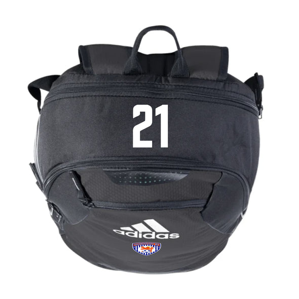 Parsippany SC adidas Stadium II Backpack - Black