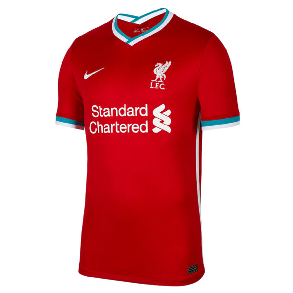 Nike Mo Salah 2020-21 Liverpool Home Jersey - YOUTH