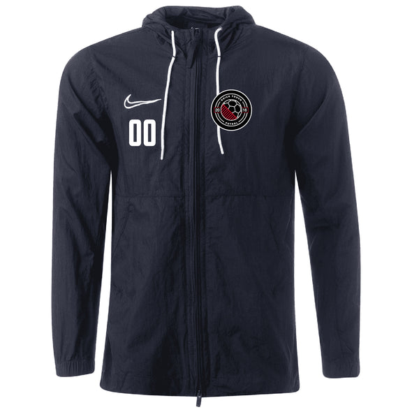 Quick Touch FC Nike Academy 19 Rain Jacket - Black