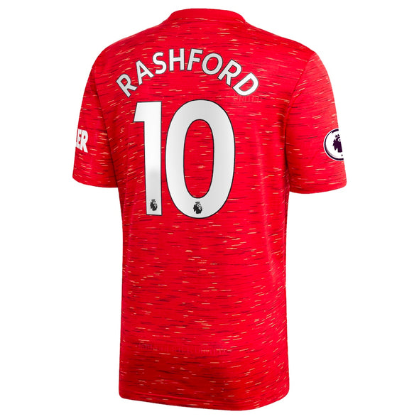 adidas Marcus Rashford 2020-21 Manchester United Home Jersey - ADULT