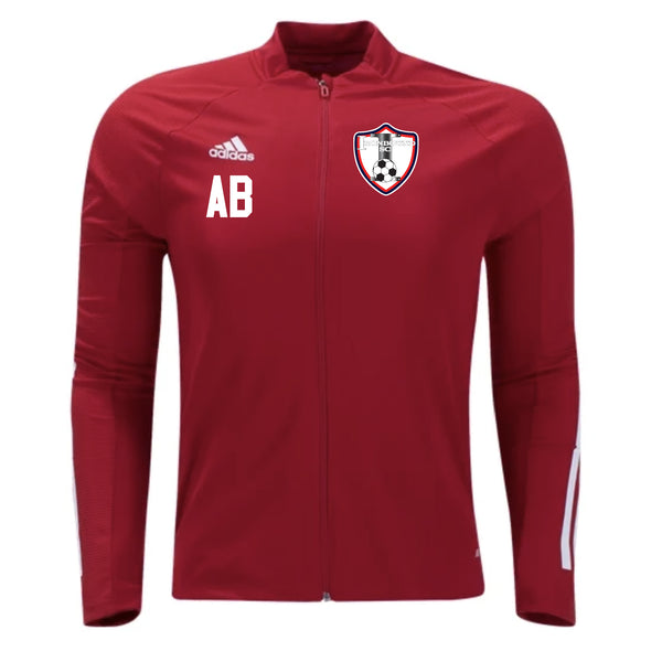 Ironbound SC adidas Condivo 20 Red Training Jacket