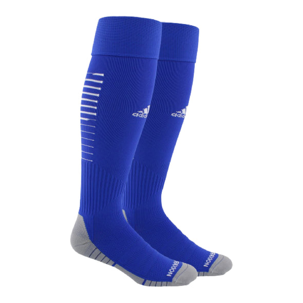 Parsippany SC Academy adidas Team Speed II Match & Practice Soccer Socks - Royal/White