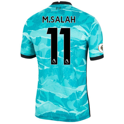 Nike Mo Salah 2020-21 Liverpool Away Jersey - MENS