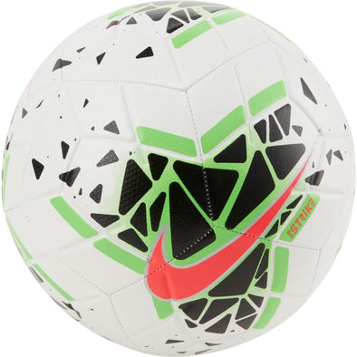 Nike Strike Soccer Ball- White/Green Strike/Crimson/Black