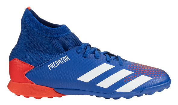 adidas Predator 20.3 Youth Turf Shoes - Blue/Red/White