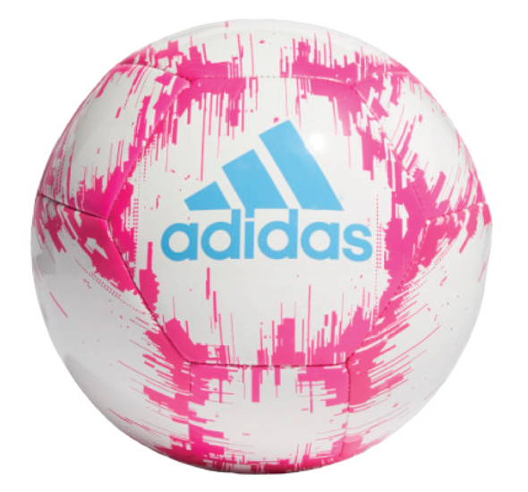 adidas Glider 2 Soccer Ball - White/Pink