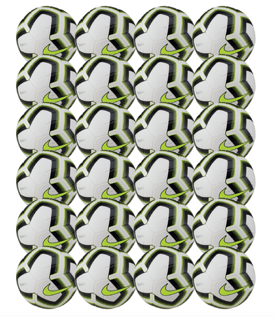 Nike Strike Team Soccer Ball Pack - White/Black/Volt