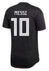 adidas Messi Argentina 2018 World Cup AUTHENTIC Argentina Home Jersey MEN'S - BlackWhite