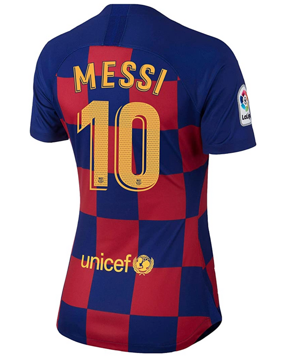 Nike Messi 2019-20 FC Barcelona Home Jersey - WOMEN