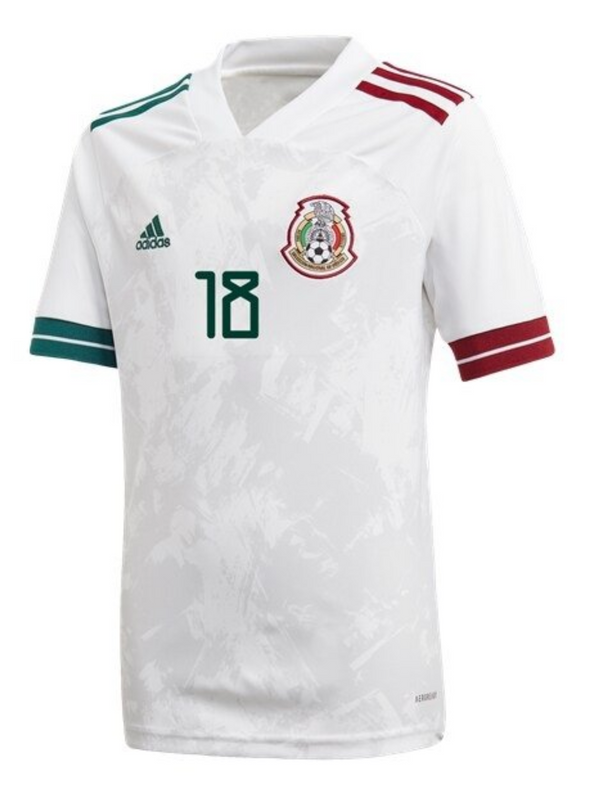 adidas Andres Guardado 2020-21 Mexico Away Jersey - YOUTH