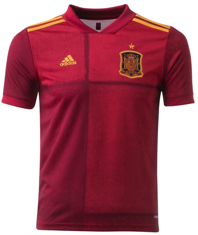 adidas 2020 Spain Home Jersey - YOUTH