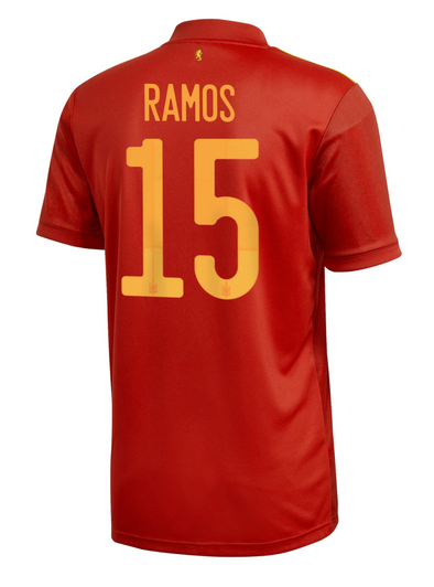 adidas Sergio Ramos AUTHENTIC 2020-21 Home Jersey - MENS
