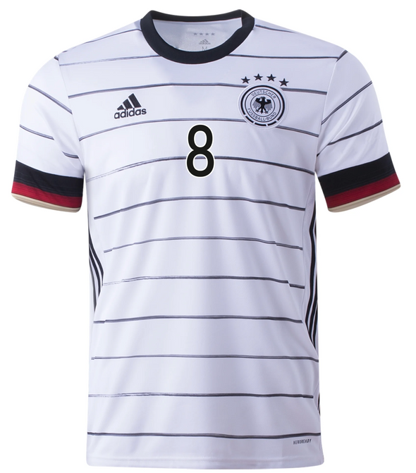 adidas Toni Kroos Germany 2020-21 Home Jersey - MENS