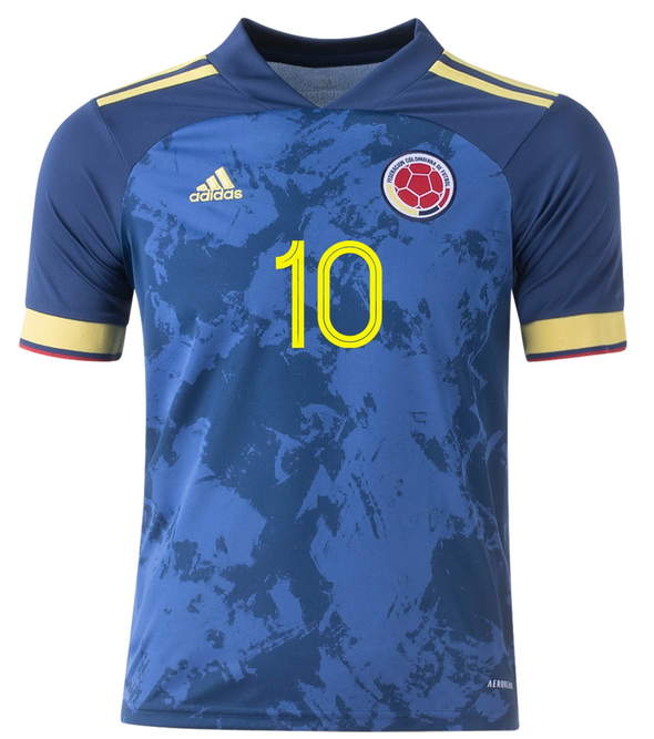 adidas James Colombia 2020-21 Away Jersey - YOUTH