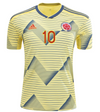 adidas James Rodriguez 2019-20 Colombia Home Jersey - MENS