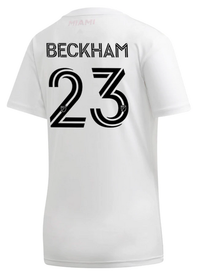 adidas David Beckham 2020 Inter Miami FC Home Jersey - WOMENS