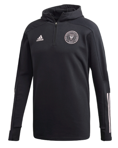 adidas Inter Miami FC 1/4 Zip Travel Jacket - MENS