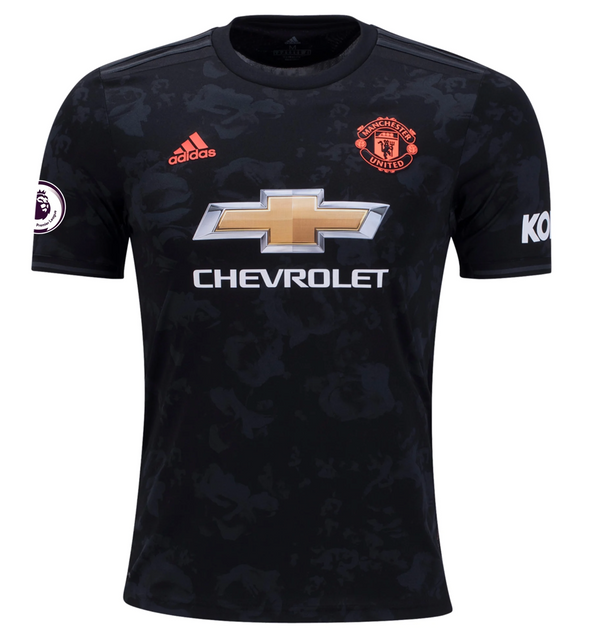 adidas Bruno Fernandes 2019-20 Manchester United 3rd Jersey - YOUTH