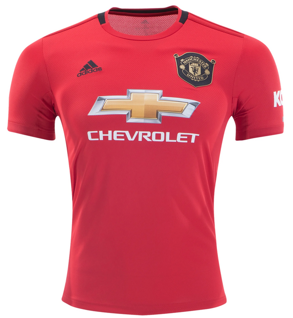 adidas 2019-20 Manchester United Home Jersey - YOUTH