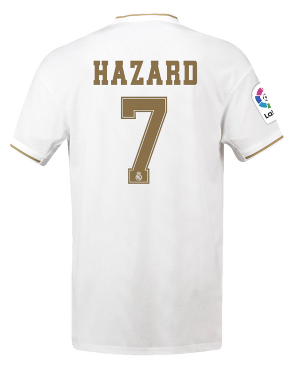 adidas Eden Hazard 2019/20 Real Madrid Home Jersey- YOUTH