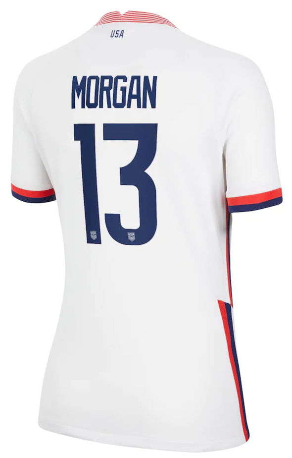 Nike USA Alex Morgan 4 Star 2020-21 Home Jersey - WOMENS