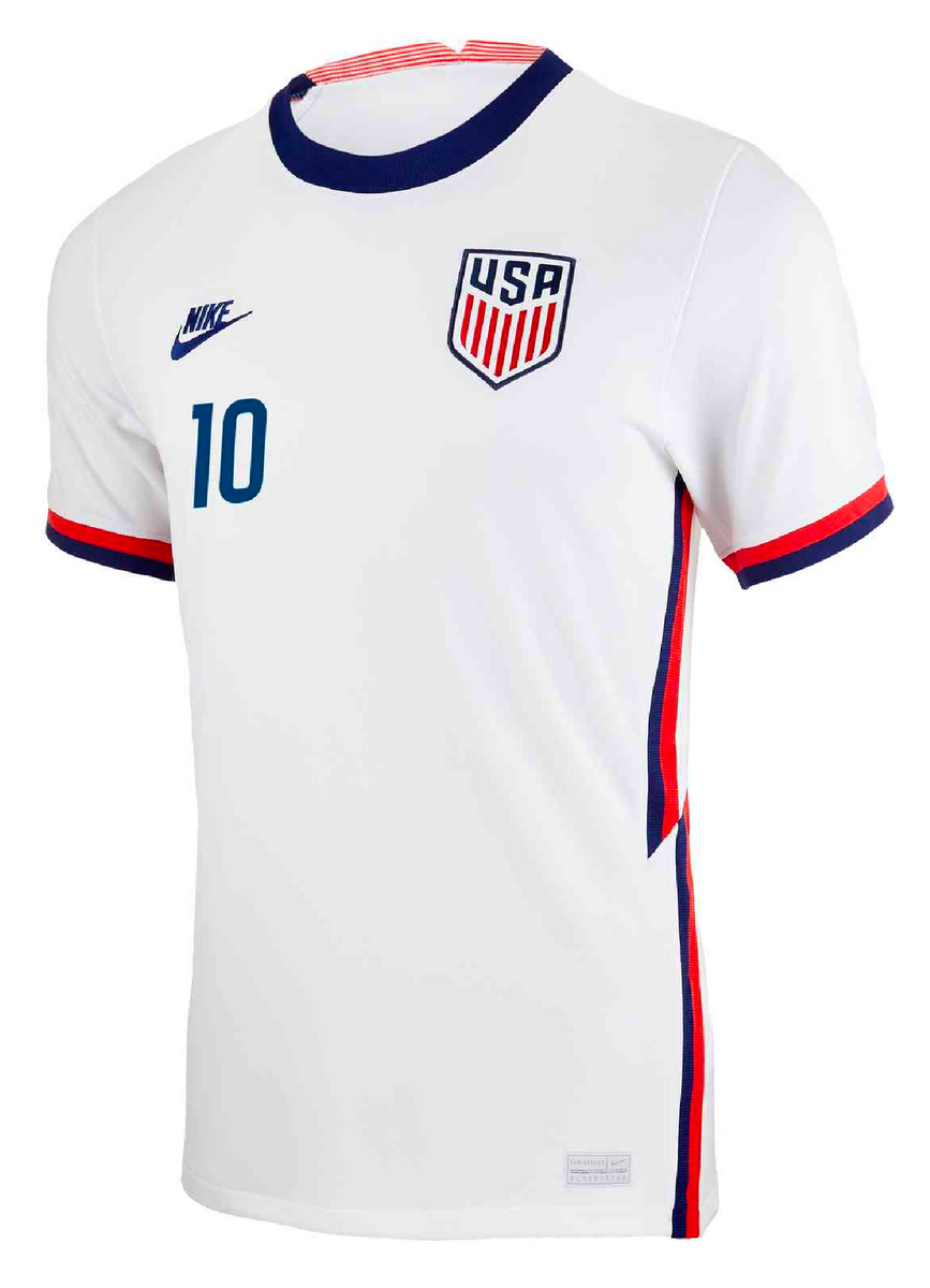 Nike Usa Christian Pulisic 2020 21 Authentic Vapor Home Jersey Mens Soccer Zone Usa