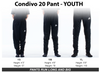 BSM Elite adidas Condivo 20 Black Training Pants