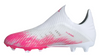 adidas X 19+ FG Junior - White/Core Black/Shock Pink