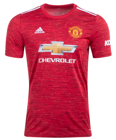 adidas 2020-21 Manchester United Home Jersey - ADULT