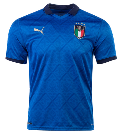 Puma 2020-21 Italy Home Replica Jersey - YOUTH