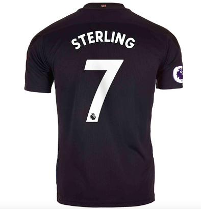 Puma Raheem Sterling 2020-21 Manchester City Away Jersey - MENS