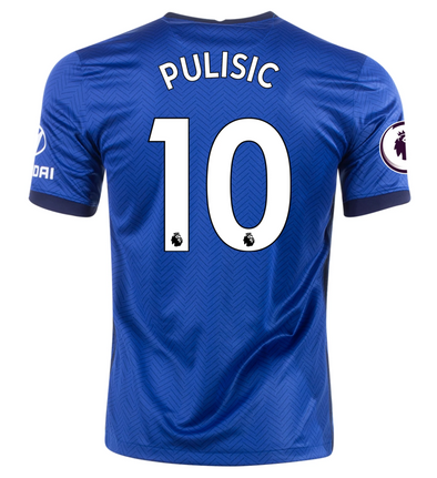 Nike Christian Pulisic 2020-21 Chelsea Home Jersey - YOUTH